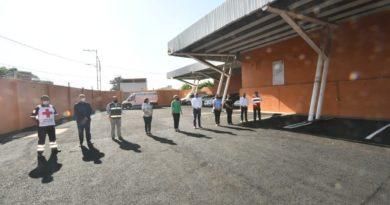 Mejoran estacionamiento de Cruz Roja mexicana