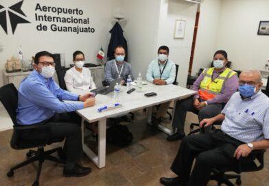 Refuerzan filtro sanitario en el Aeropuerto del Bajio