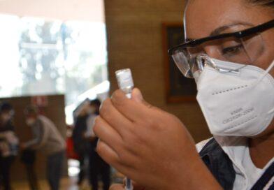 SSG Informa la vacunación del grupo de 30 a 39 años en Tarimoro