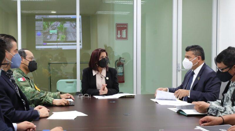 Coordina Estado con Autoridades de Salamanca, acciones para coadyuvar en la seguridad del municipio